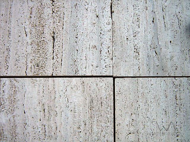 Travertine marble, detail © Cristina Wong